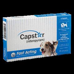 Capstar Blue (2-25 LBS) 11 .4mg Bulkpack (60)